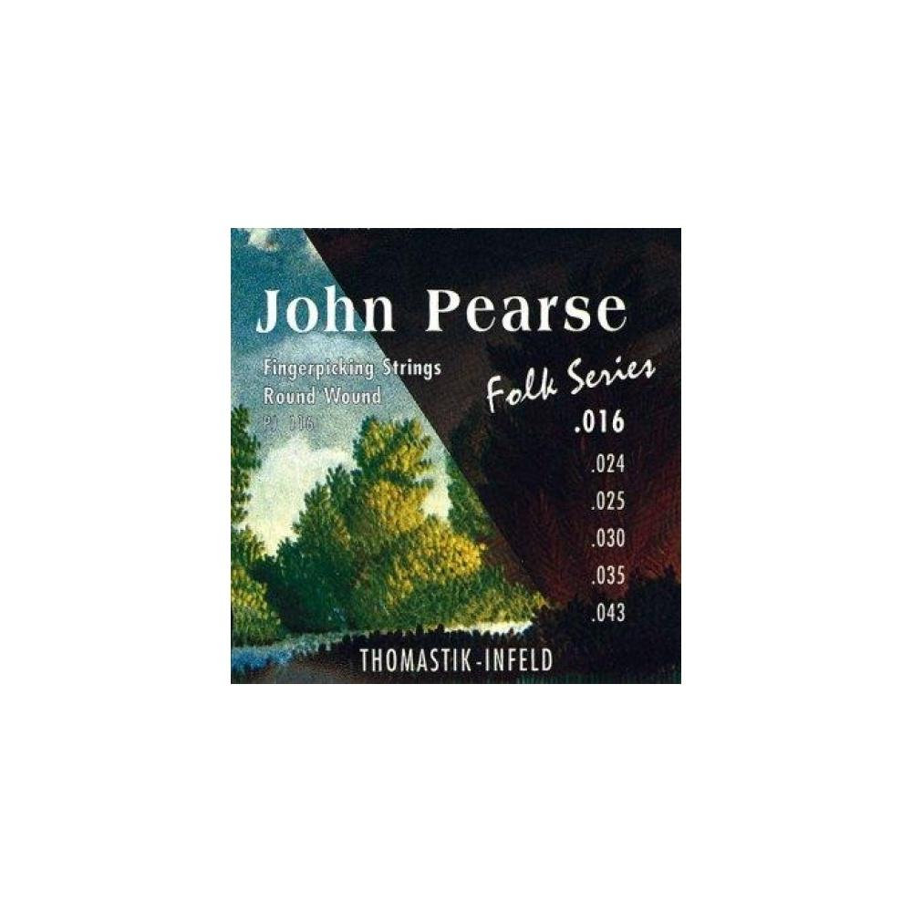 Ball End Light Thomastik PJ116 John Pearse Folk Series