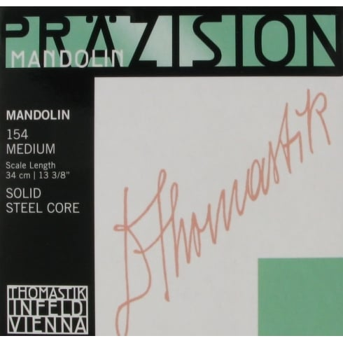 Thomastik-Infeld Precision Flat Wound Mandolin Strings Medium Loop End