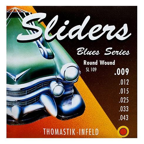 Thomastik-Infeld SL109 Blues Sliders 09-43 Electric Guitar Strings