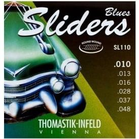 Thomastik-Infeld SL110 Blues Sliders 10-48 Electric Guitar Strings