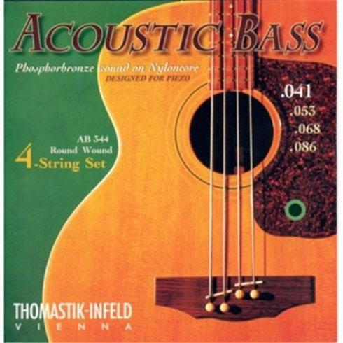 Thomastik-Infeld Thomastik AB344 Acoustic Phosphor Bronze Bass Guitar Strings, 41-86, Long Scale