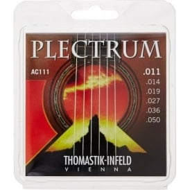Thomastik AC111 Plectrum Bronze Light 11-50 Acoustic Guitar Strings