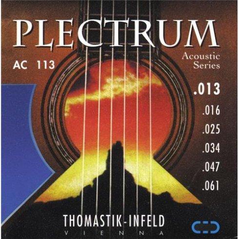 Thomastik AC113 Plectrum Bronze 13-61 Acoustic Guitar Strings