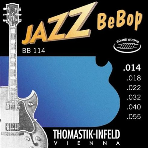 Thomastik-Infeld Thomastik BB114 Jazz BeBop 14-55 Electric Guitar Strings
