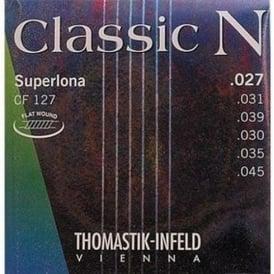 Thomastik CF127 N Series Nylon Normal Tension Flat Wound Guitar Strings