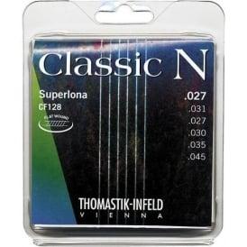 Thomastik CF128 N Series Nylon Light Tension  Flat Wound Guitar Strings