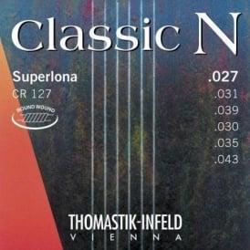 Thomastik CR127 N Series Nylon Regular Tension Roundwound Guitar Strings