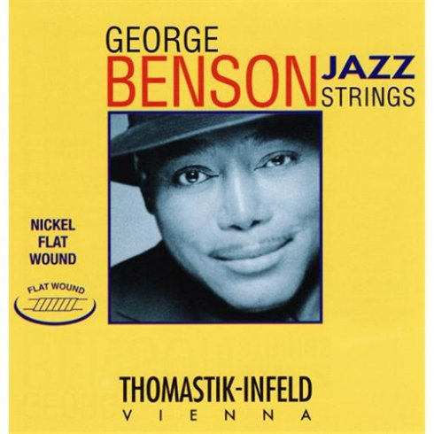 George Benson Flatwound 12-53 Electric Guitar Strings