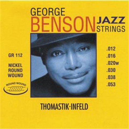 Thomastik George Benson Roundwound 12-53 GR112 Electric Guitar Strings