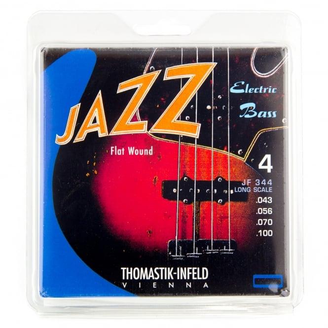 Thomastik JF344 Jazz Flatwound Bass Strings 43-100