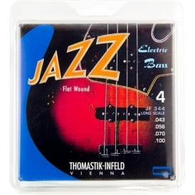 Thomastik JF344 Jazz Flatwound Bass Strings 43-100
