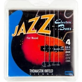 Thomastik JF364 Jazz Flatwound Bass Strings 44-96 Extra Long Scale