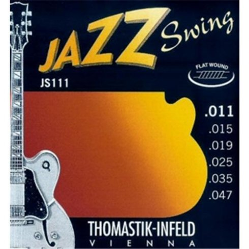 Thomastik-Infeld Thomastik JS111 Jazz Swing Flatwound 11-47 Electric Guitar Strings