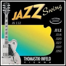 Thomastik JS112 Jazz Swing Flatwound 12-50 Electric Guitar Strings