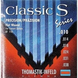 Thomastik KF110 S Series Classical Light Flat Wound Guitar Strings