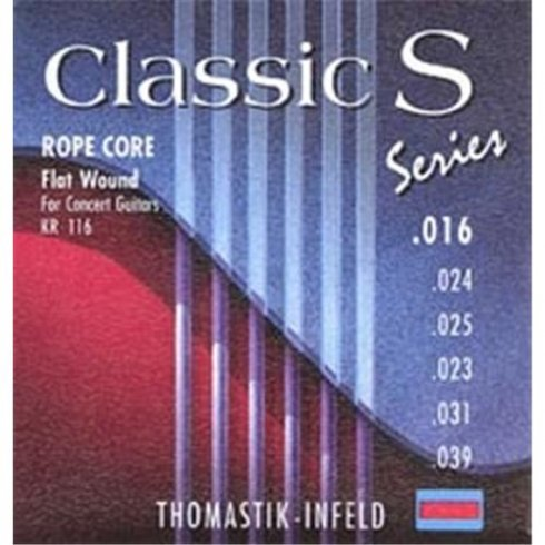 Thomastik KR116 Classic-S Flatwound Guitar Strings