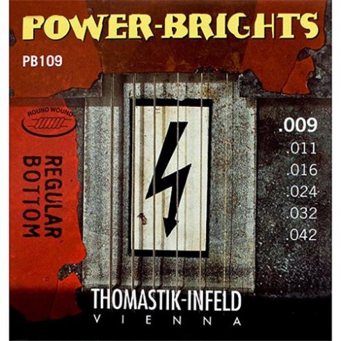 Thomastik-Infeld Thomastik PB109 Power-Bright 09-42 Electric Guitar Strings