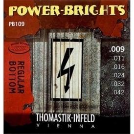 Thomastik PB109 Power-Bright 09-42 Electric Guitar Strings