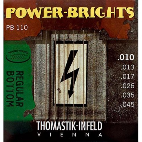 PB110 Power-Bright 10-45 Electric Guitar Strings