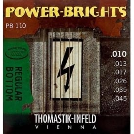 Thomastik PB110 Power-Bright 10-45 Electric Guitar Strings