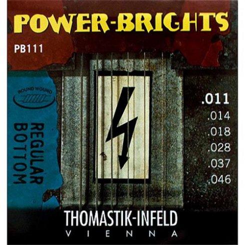 Thomastik PB111 Power-Bright 11-46 Electric Guitar Strings