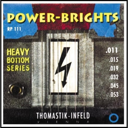 Thomastik RP111 Power-Bright 11-53 Electric Guitar Strings