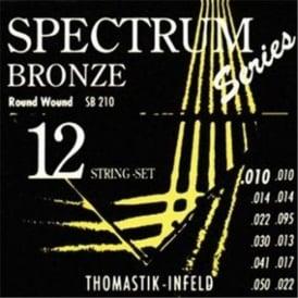 Thomastik SB210 Spectrum Bronze 10-50 Gauge 12-String Acoustic Guitar Strings