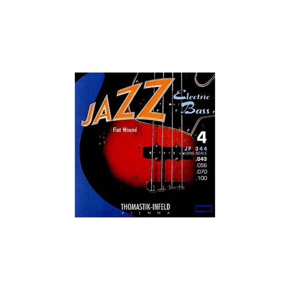 Bass Strings Thomastik : thomastik jr344 jazz roundwound 4 string bass strings 43 89 long scale ~ Vivirlamusica.com Haus und Dekorationen