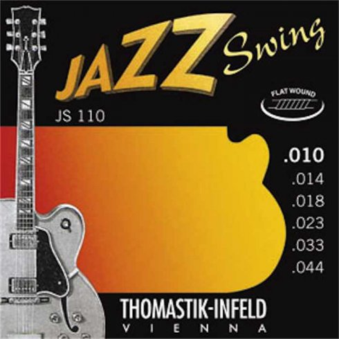 Thomastik JS110 Jazz Swing Flatwound 10-44 Electric Guitar Strings