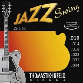 Thomastik JS110 Jazz Swing Flatwound 10-44 Electric Guitar Strings