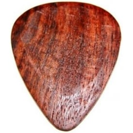 Timber Tones Exotic Wood Single Plectrum Bloodwood