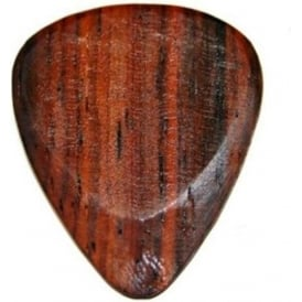 Timber Tones Exotic Wood Single Plectrum Cocobolo