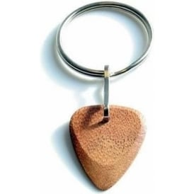 Timber Tones Exotic Wood Single Plectrum Jatoba Key Ring