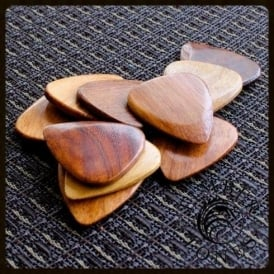 Timber Tones - Mimosa Wood Single Guitar Plectrum