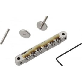 TonePros Replacment ABR-1 Nickel Tune-O-Matic Bridge - G Formula Saddles AVR2G-N
