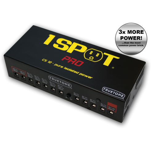 Truetone 1 SPOT CS12 Professional Isolated Power Supply Brick, 12-Way