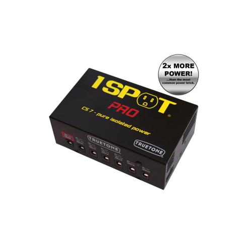 Truetone 1 SPOT Professional Isolated Power Supply Brick, 7-Way
