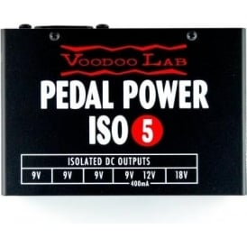 Voodoo Lab Pedal Power ISO-5 Effects Pedal Power Supply