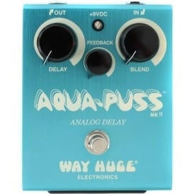 Way Huge Electronics Aqua-Puss™ Analog Delay Guitar Effects Pedal