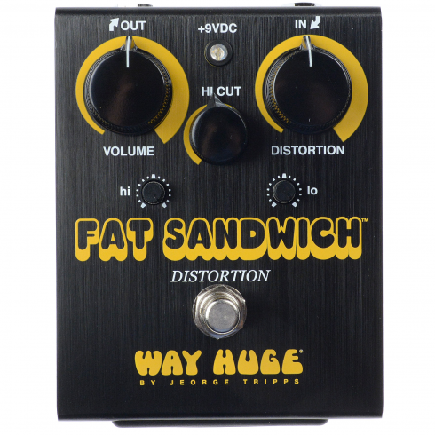 Way Huge Electronics Fat Sandwich Black Distortion LIMITED EDITION Pedal