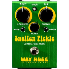 Way Huge Electronics Swollen Pickle™ MKIIs Jumbo Fuzz Guitar Effects Pedal