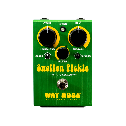 Way Huge Electronics Swollen Pickle MKIIs Jumbo Fuzz Pedal