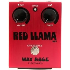 Way Huge Electronics Red Llama™ Overdrive Guitar Effects Pedal