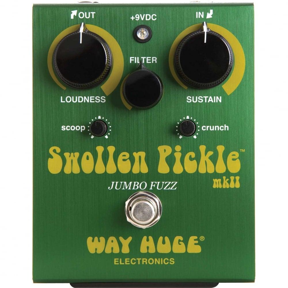 way huge electronics swollen pickel jumbo fuzz guitar effects pedal. Black Bedroom Furniture Sets. Home Design Ideas