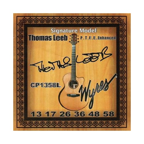 Wyres 13-58 Thomas Leeb Signature Coated Phosphor Bronze Strings