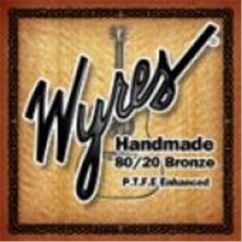 Wyres Handmade Teflon Coated 11-52 80/20 Bronze Acoustic Guitar Strings