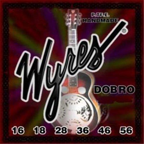 Wyres Handmade Teflon Coated Dobro 16-56 Phosphor Bronze Acoustic Guitar Strings