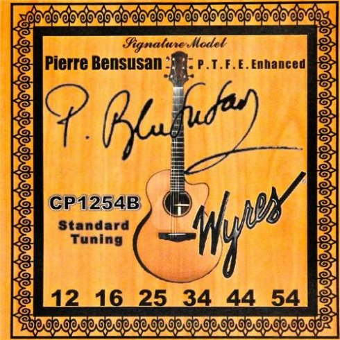 Wyres Pierre Bensusan 12-54 Phosphor Bronze Coated Acoustic Guitar Strings